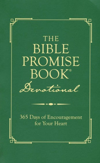 The Bible Promise Book Devotional: 365 Days of Encouragement for Your Heart - KI Gifts Christian Supplies