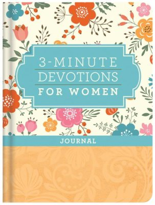 3-Minute Devotions for Women Journal - KI Gifts Christian Supplies