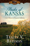 Brides of Kansas: 3-in-1 Historical Romance Collection