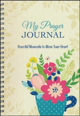 My Prayer Journal: Peaceful Moments to Bless Your Heart - KI Gifts Christian Supplies