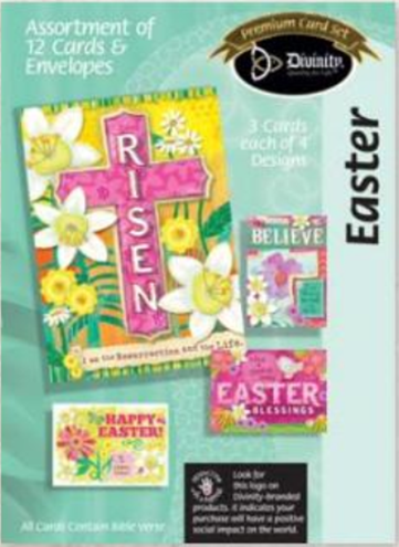 Easter Card Assortment (12 Boxed Cards)