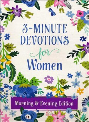 3-Minute Devotions for Women, Morning & Evening Edition - KI Gifts Christian Supplies