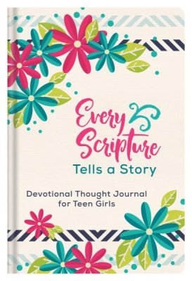 Every Scripture Tells a Story Journal for Teen Girls (JoAnne Simmons) - KI Gifts Christian Supplies