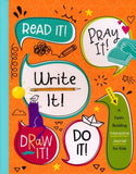 Read It! Pray It! Write It! Draw It! Do It! (Jean Fischer) - KI Gifts Christian Supplies