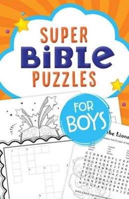 Super Bible Puzzles for Boys - KI Gifts Christian Supplies