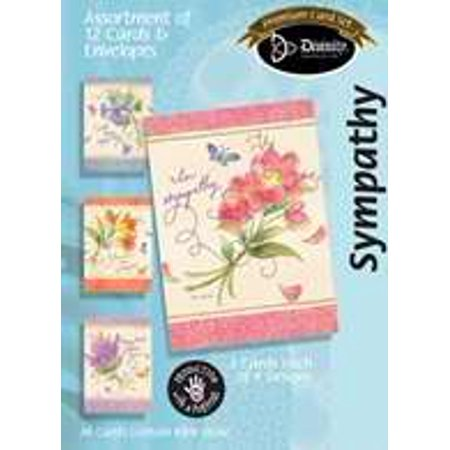 Sympathy Assortment  : Floral (Box of 12)
