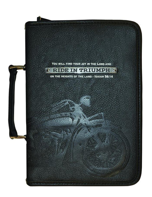 Bible Cover: God's Garage Ride In Triumph