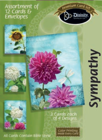 Sympathy Flowers (12 Boxed Cards)