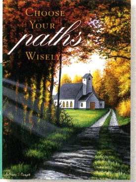 Greeting Card - Pack of 6 Encouragement - Fall Church - KI Gifts Christian Supplies