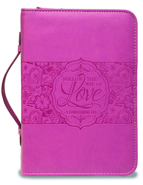 Bible Cover: Rose the way of Love 1 Corinthians 14:1
