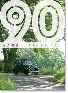 Happy Birthday : Green Austin Seven 90th (order in 6)