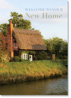 New Home :  Thatch Cottage by Water (order in 6)