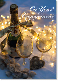 On Your Engagement - Champagne Table (order in 6)