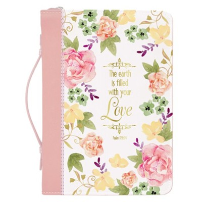 Bible Cover : Watercolour Garden