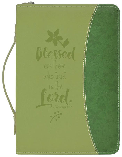 Bible Cover: Blessed Are Those Who Trust The Lord Jeremiah 17:7