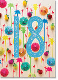 Happy 18th Birthday : Party Decorations (order in 6)