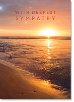 Sympathy - Alnmouth Beach Dawn (order in 6)
