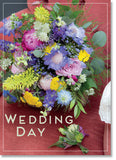 Wedding : Posy on Red Chair (order in 6)