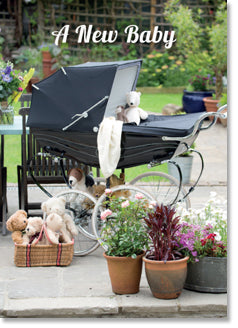 New Baby : Antique Pram (order in 6)