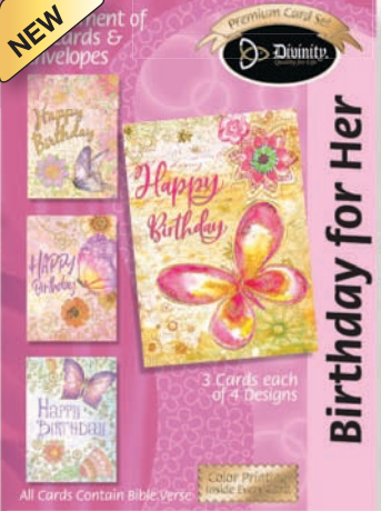 Birthday for Her (12 Boxed Cards)
