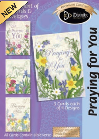 Praying for You (12 Boxed Cards)