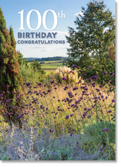 100th Birthday - Hyde Hall Garden Scene (order in 6)