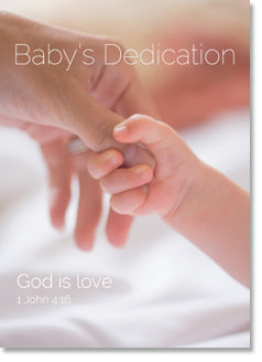 Dedication - Mother and Child Hands (order in 6)