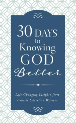 30 Days to Knowing God Better (Back in Stock) - KI Gifts Christian Supplies