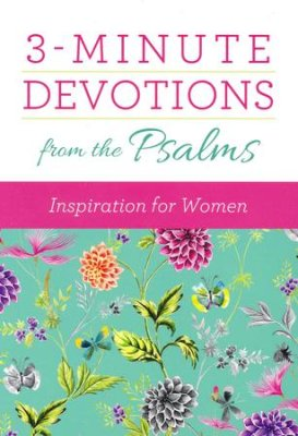 3-Minute Devotions From the Psalms (Vicki J. Kuyper, MariLee Parrish) - KI Gifts Christian Supplies