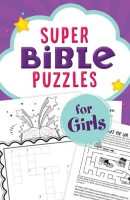 Super Bible Puzzle for Girls - KI Gifts Christian Supplies