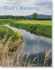 Petite Card – God's Blessing: Somerset Levels - KI Gifts Christian Supplies