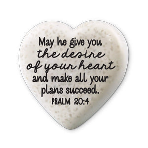 Scripture Stone Hearts of Hope: Success