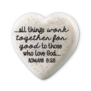 Scripture Stone Hearts of Hope: Believe