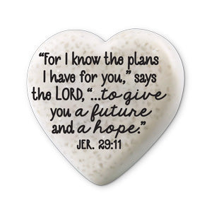 Scripture Stone Hearts of Hope: Journey