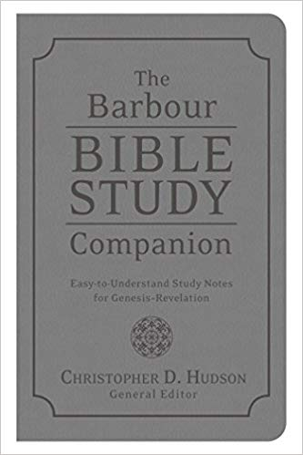 The Barbour Bible Study Companion (Christopher D. Hudson) - KI Gifts Christian Supplies
