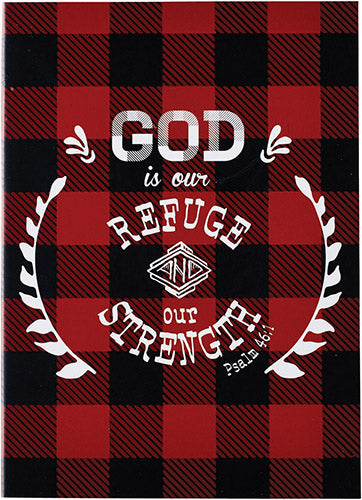Refuge and Strength - Padfolio - KI Gifts Christian Supplies