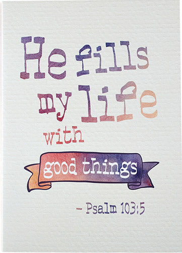 Good Things - Padfolio - KI Gifts Christian Supplies