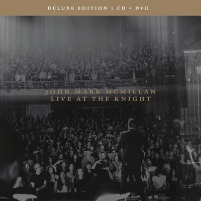 Live At The Knight CD/DVD: John Mark McMillan - KI Gifts Christian Supplies