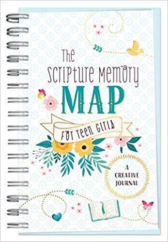 The Scripture Memory Map for Teen Girls: A Creative Journal - KI Gifts Christian Supplies