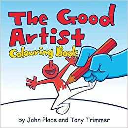 The Good Artist Colouring Book - KI Gifts Christian Supplies