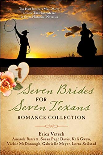 Seven Brides for Seven Texans Romance Collection (Amanda Barratt & others) - KI Gifts Christian Supplies