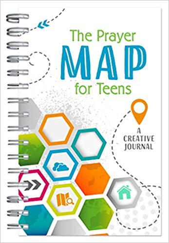 The Prayer Map for Teens: A Creative Journal - KI Gifts Christian Supplies