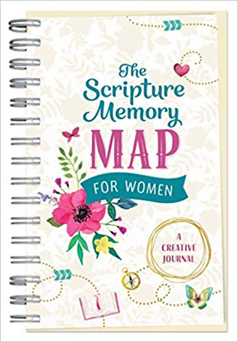 The Scripture Memory Map for Women: A Creative Journal - KI Gifts Christian Supplies