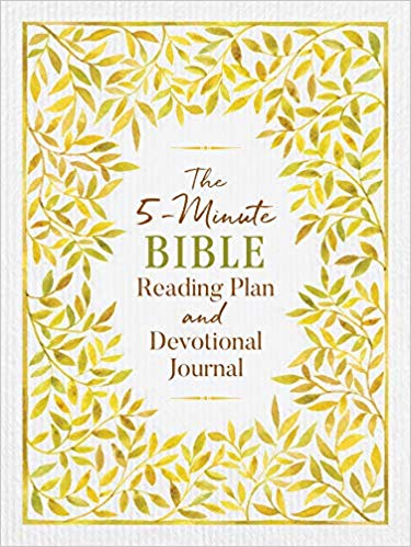 The 5-Minute Bible Reading Plan and Devotional Journal (Ed Strauss) - KI Gifts Christian Supplies