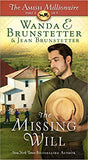 The Missing Will: The Amish Millionaire Series #4 (Wanda E. Brunstetter) - KI Gifts Christian Supplies