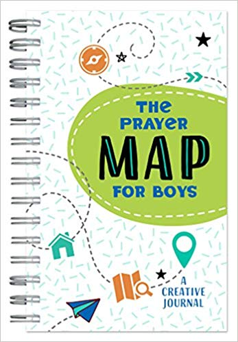 The Prayer Map for Boys: A Creative Journal - KI Gifts Christian Supplies