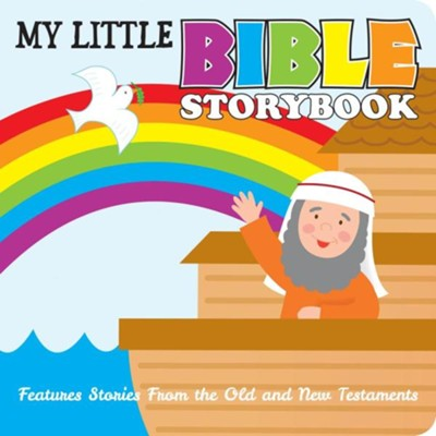 My Little Bible Storybook (Karen Mitzo Hilderbrand, Kim Mitzo Thompson) - KI Gifts Christian Supplies