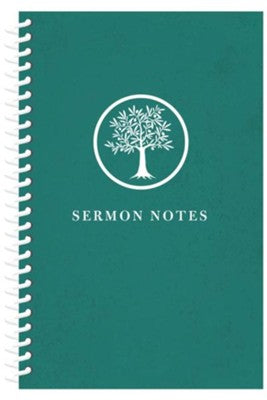 Sermon Notes Journal - Olive Tree - KI Gifts Christian Supplies