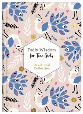 Daily Wisdom For Teen Girls 2021 - Devotional Collection