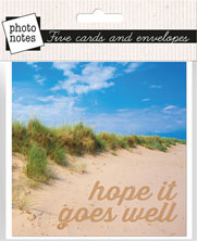 Photonotes : Sand Dune - Hope it Goes Well - KI Gifts Christian Supplies